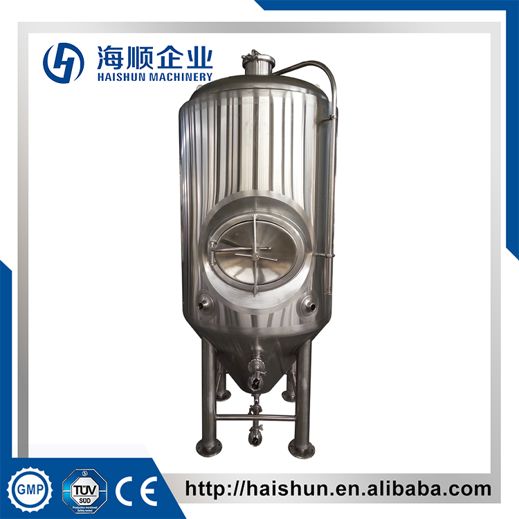 new design fashion low price sanitary industrial beer fermenter 1000l