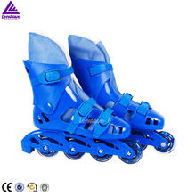 Lenwave brand cheap pu wheel inline roller skate shoes price