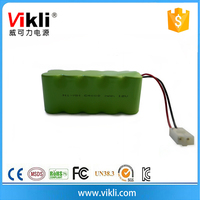 Cylindrical nimh 12V C4000 rechargeable battery