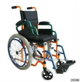 Beautiful and colorful kids wheelchair BME4617K
