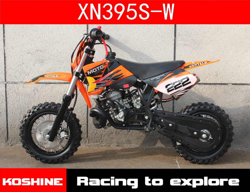 KOSHINE GS395 W kids gift 50cc 2 stroke water cooled engine dirt bike