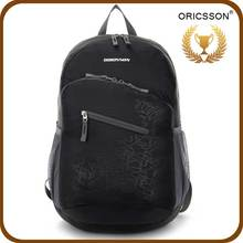 New Arrival Design Fold Up Unisex Backpack For High School