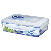 waterproof airtight microwave vacuum plastic containers with pump to keep food fresh