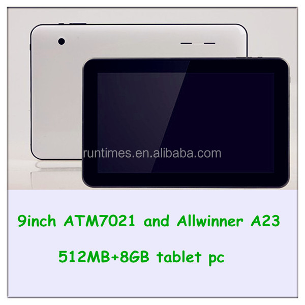 9'' 512MB+8G Dual core 0.3mp+2.0mp 5000mah