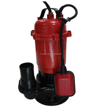 WQD series cast iron housing electric sewage submersible dirty water pump with float switch