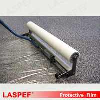 PE Material Carpet Surface Protection,Transparent and Adhesive Anti-Scratch film for Carpet