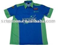 Dye custom motorcycle race team shirts