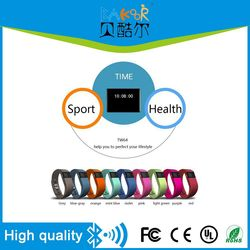 The cheap Bluetooth 4.0 OLED Smart Bracelet TW64,Calorie counter/Sleep monitor Health bracelets