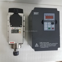 2.2KW air-cooled spindle and inverter for CNC router