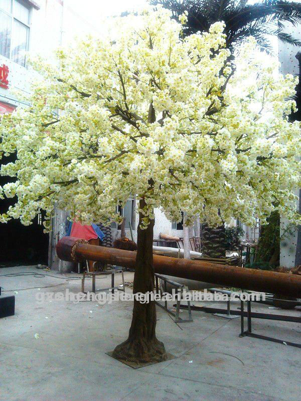 Artificial Cherry Blossom Trees / Artificial flower trees:wedding trees; pink&white color available
