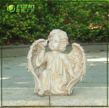 Wholesale Garden Resin Cherub Statue