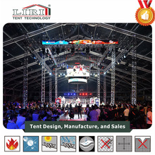 Transparent roof large capacity tents for outdoor events and exhibitions