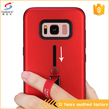 Shockproof kickstand mobile back phone cover case for samsung galaxy s8 s8 plus