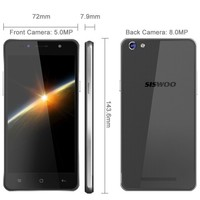 Low Price MTK6735 Quad Core 5'' Android 5.0 Mobile Phone SISWOO C50 Cheap Big Screen Android Phone