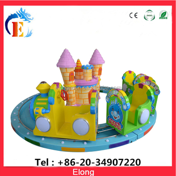 High quality kiddie amusement ride electric train eletronic railway train for sale