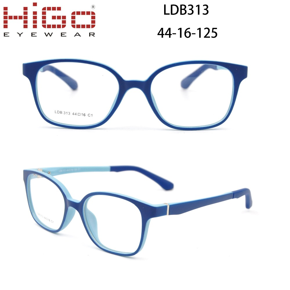 Plastic rubber kid glasses China factory SPRING HINGE tr90 children glasses tr90 kids optical frames