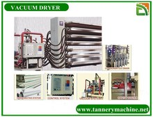 tannery machine cow suede leathe for italy leather vacuum dryer