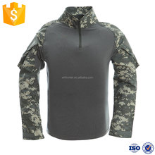 FRONTER best price universal camo long sleeves mens tactical T-shirt