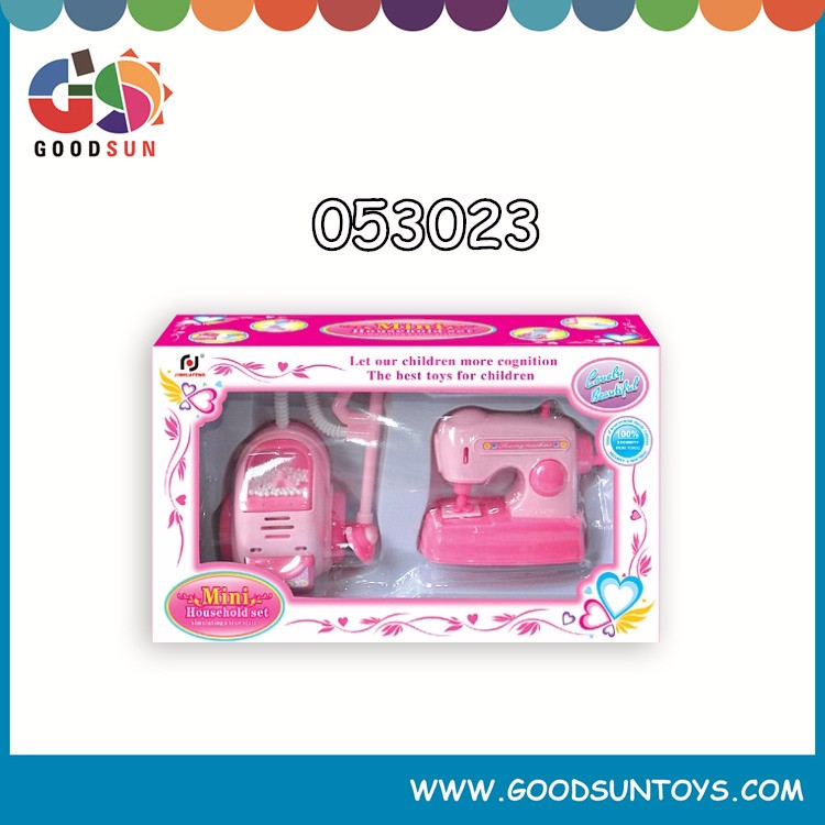 Electronic mini kitchen toy set plastic tableware toy