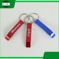 2016 New Style wine plastic customized logo bottle opener key chain with cheap price for wholesale