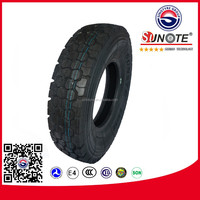 china wholesale Radial Truck Tire 11r24.5 brand SUNOTE SN135 for US market with DOT& Smartwa