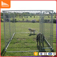 Low price hot sales metal wire powder coated folding dog kennel