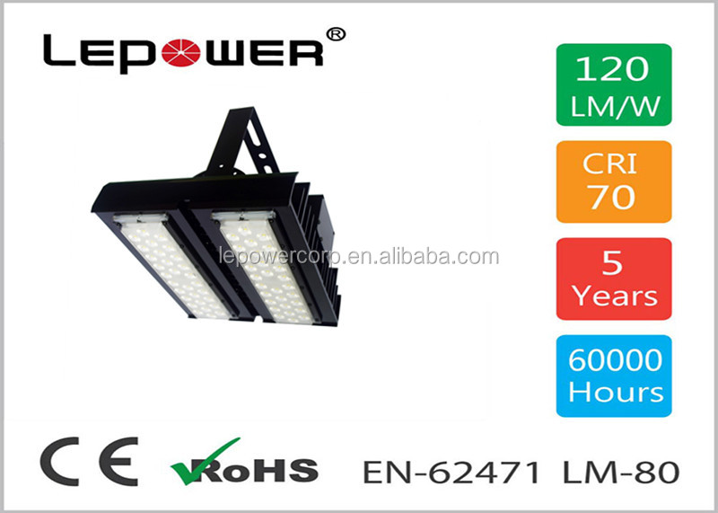 IP67 Waterproof LED Flood light 60W 70W 80W 90W 100W, 140Lm/w, Meanwell driver, Bridgelux chip