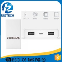 5V 3.6A dual USD power for iphone high speed power bank