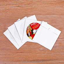 Hot Sale 80/100 GSM Blank with Window CD Sleeve /CD Bag/CD Case.