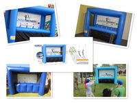 Archery Tag - inflatable interactive archery game, Inflatable Hover Ball Archery Tag Game