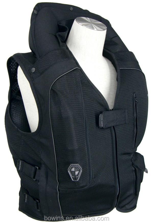 motorrad schutz racing pferdesport reiten airbag weste. Black Bedroom Furniture Sets. Home Design Ideas