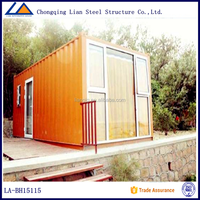 Mobile Hotel Prefabricated Container House for Tourist scenic spot