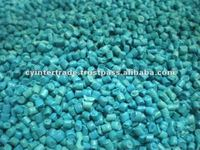 HDPE BLUE RECYCLED RESIN