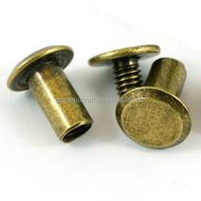 Metal Binding Chicago Screws Nail Rivets