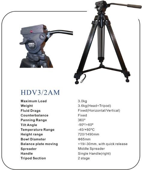 Jib camera crane accessories carbon fiber tripod with head kit payload 30kg