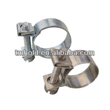 carbon steel mini fuel line injector clamps meter with m7 nut