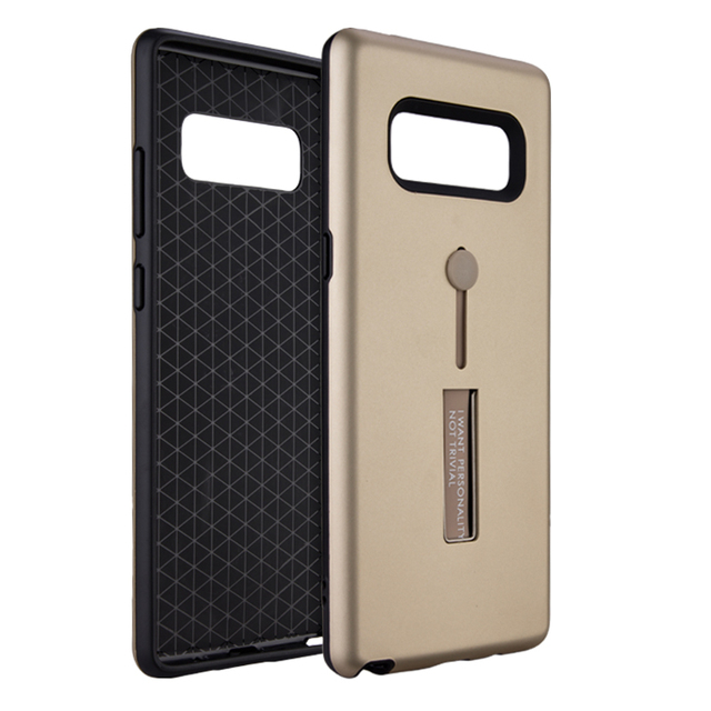 For samsung galaxy note 8 case,finger strap kickstand back cover case for samsung galaxy note 8