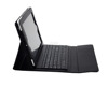 New arrival! bluetooth wireless tablet case keyboard, non-detachable keyboard for 10inch tablet
