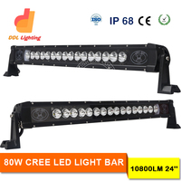 Super Bright 10800LM High Power 80W crees led vehicle lightbar popular in 2016 canton fair newest arrival good feedback