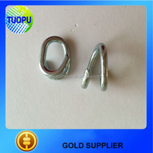 Tuopu steel repair lap link galvanized lap link chain repair links