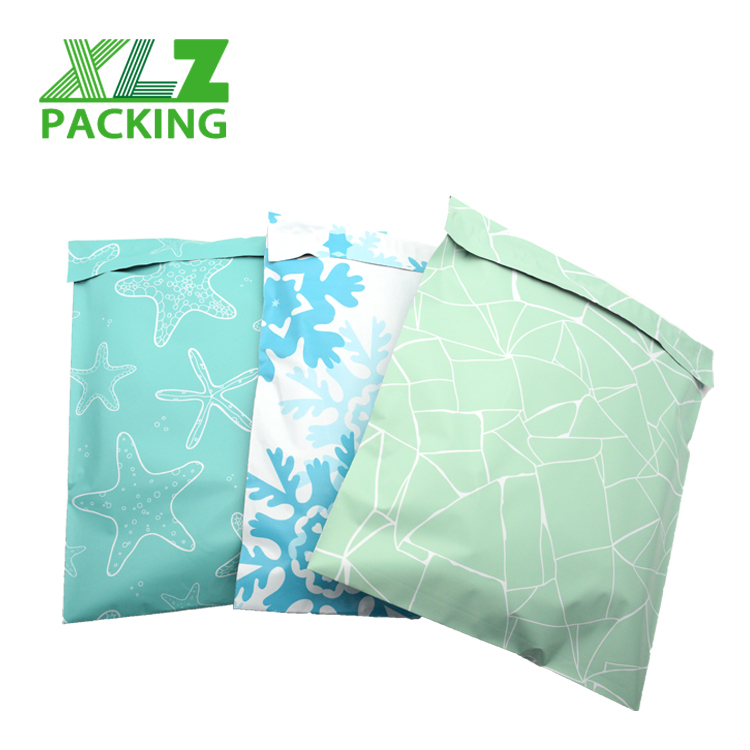 custom plastic mailing bags printed <strong>poly</strong> mailer apparel shipping courier bag for clothing