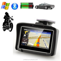 Waterproof GPS navigator For All Vehicle GPS Wince 6.0 System Motocycle gps and Taxi meter with bluetooth