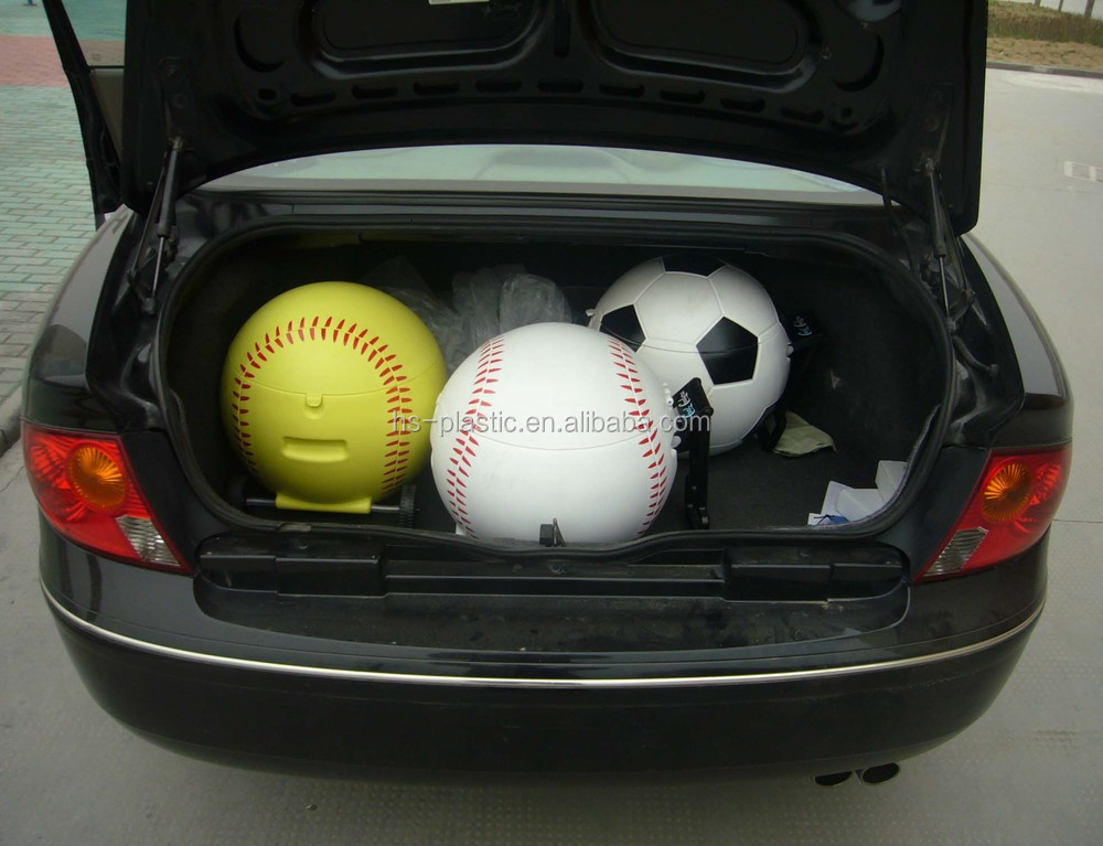 Platic softball cooler box
