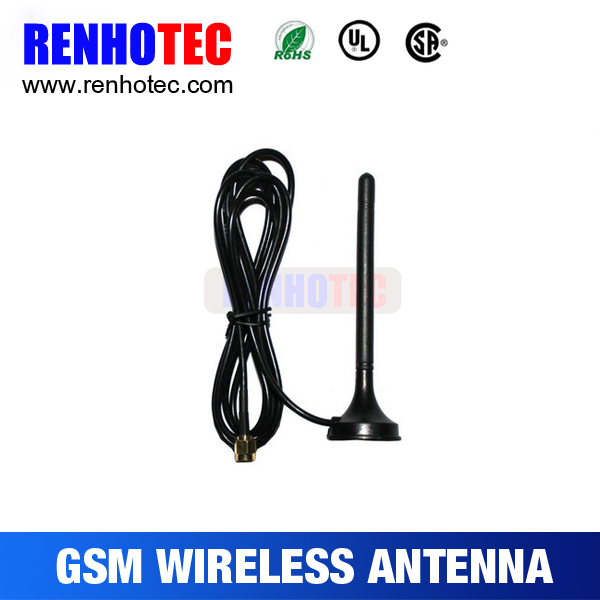 sma connector for tv antenna, GSM/CDMA quad-band mini magnetic antenna,omni directional GSM antenna