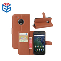 Folio Style Wholesale Price PU Flip Cover Leather Case For Motorola For Moto G5 XT1671 XT1672 XT1676 XT1677