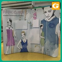 Clothing Exhibition Pop Up Banner Display Stand