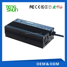12V15A lead acid battery charger for electric pallet truck with alu case