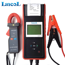 Lancol Handheld battery analyzer MICRO-768A car battery cell tester with Printer current clamp