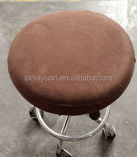 Suede round board benchcloth cover custom bar counter sets