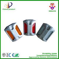 3M aluminum road stud ,cat eye aluminum road marker ,aluminum reflective road marker